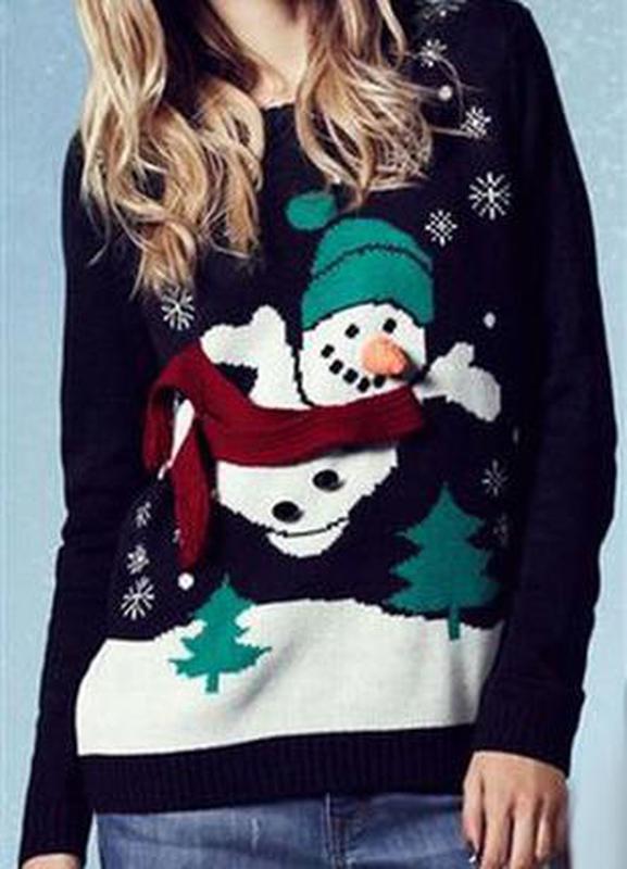 Стильний новорічний светр1  Стильний новорічний светр2 ... 173d5fda179f2
