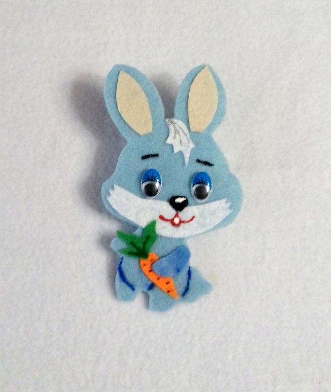 Заяц из фетра картинки