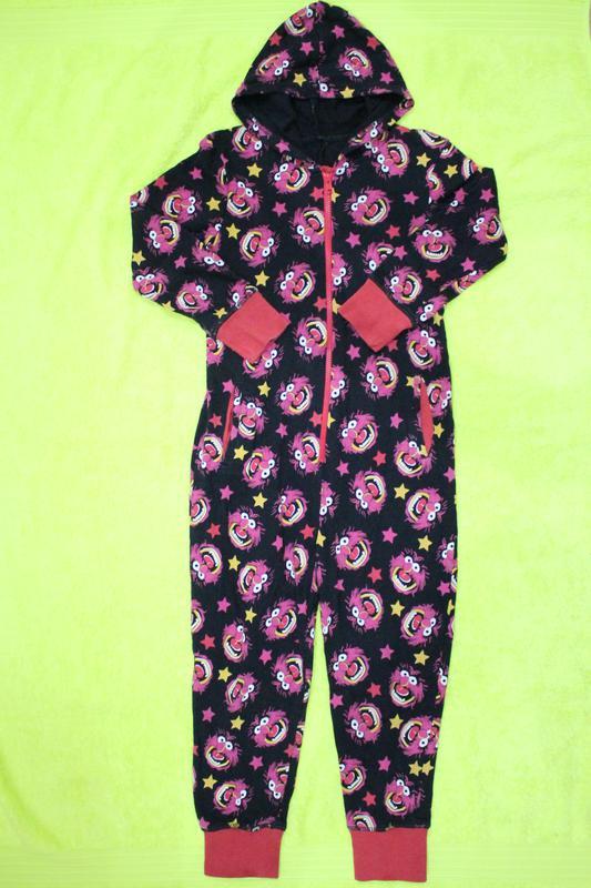 Утепленная пижама кигуруми слип человечек на -8-9 лет 9bb1470208cc1