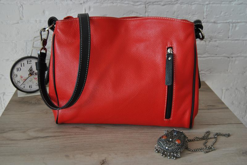 7cce6bd8172b Кожаная сумка фирмы vera pelle ,натуральная кожа, италия,новая Vera ...