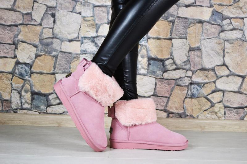40 41 натуральная замша угги ботинки сапожки мех теплые зима очень теплые1  ... 6c2bbe8b8cf