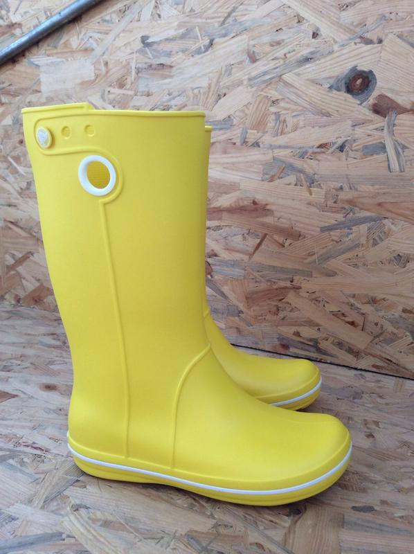 c294239c Женские резиновые сапоги крокс дождевые сапоги crocs crocband jaunt rain  boot w61 фото ...