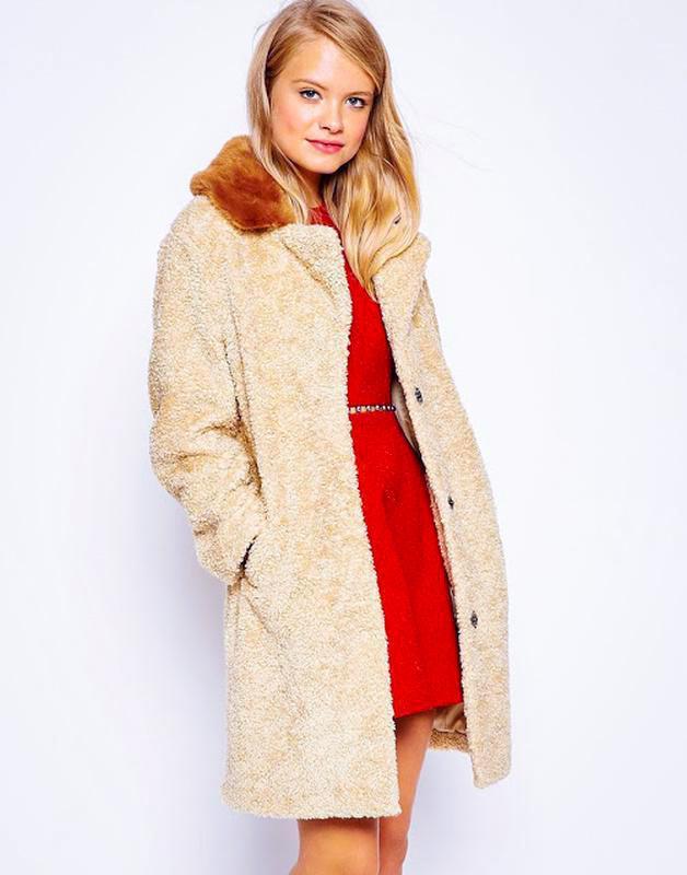 Крутое плюшевое пальто asos (+выбирай🎁) ASOS 0c740fb918d79