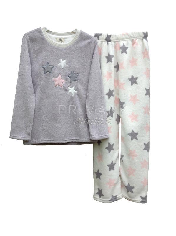 Женская флисовая пижама primark Primark 2af43bf52f74c