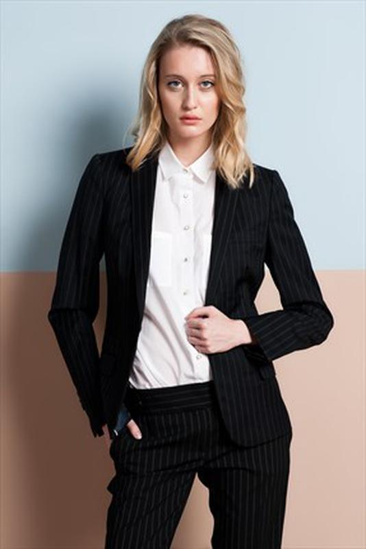 847cf493c6d Брючный строгий женский костюм пиджак+брюки Massimo Dutti