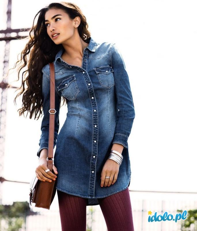 b6e45c43a8c Суперское джинсовое платье-рубашка от h m H M   DIVIDED