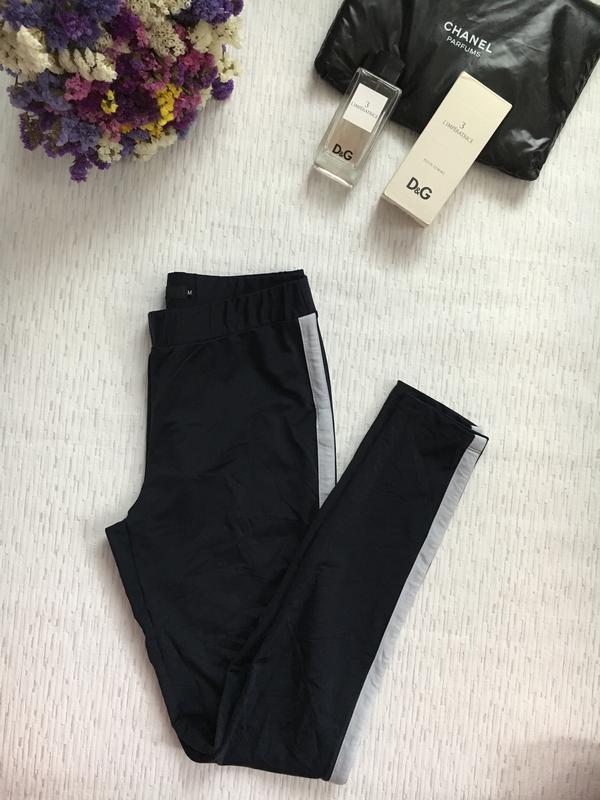 b7eba41599140 Темно- синие штаны /лосины с лампасами м- размер, цена - 299 грн ...