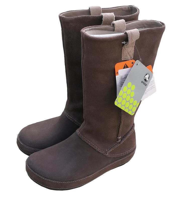 odebrać dostępność w Wielkiej Brytanii kupić Cапоги crocs berryessa suede boot размер w8 (Crocs) за 1599 грн. | Шафа