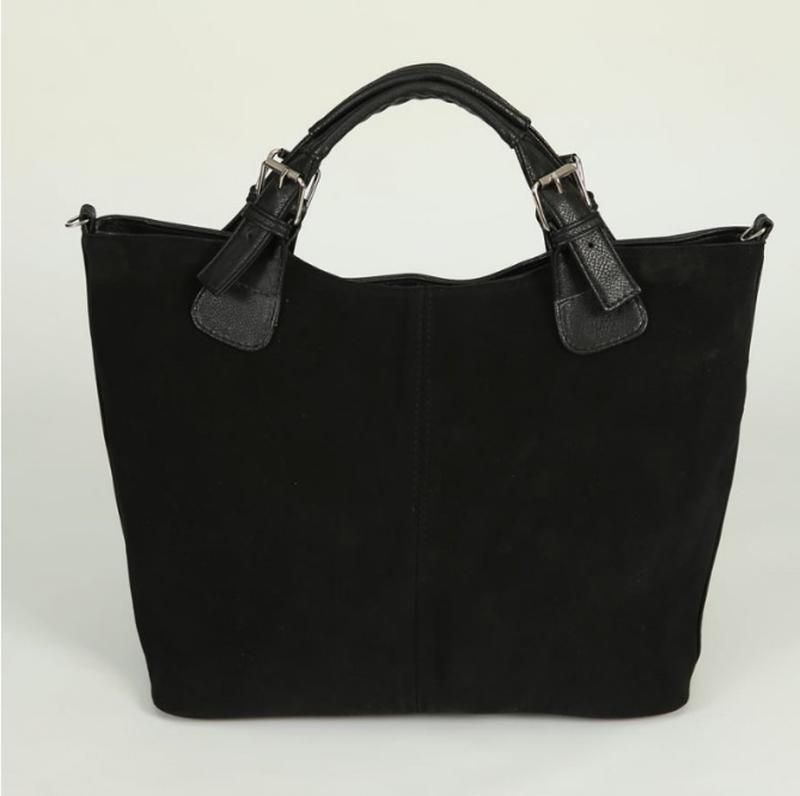 532d24f59a8e Вместительная сумка трапеция натуральная замша луцк качество, цена ...