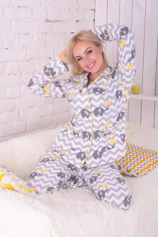 66f01f5119481 Пижама женская теплая фланель, цена - 700 грн, #8140333, купить по ...