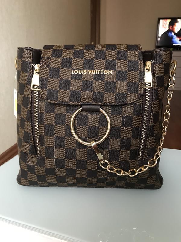 Рюкзак городской ранец портфель сумка loius vuitton, цена - 560 грн ... da2b5333d15