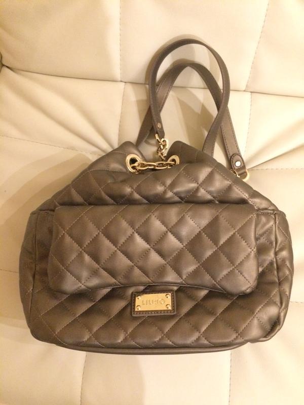 231a790efe27 Сумка-рюкзак liu jo италия оригинал бронза Liu Jo, цена - 1800 грн ...