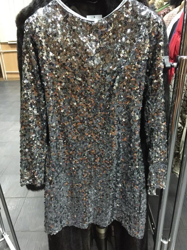 Платье с паетками цены