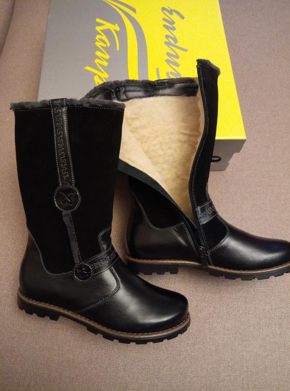 Детские зимние кожаные сапоги каприз модель кш-244-4 в наличии1 ... dcf5c3e68f19a