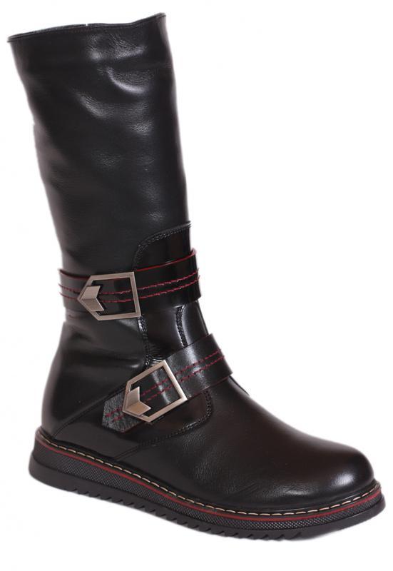 Детские зимние кожаные сапоги каприз модель кш-525 в наличии1 ... 4a747b8366477