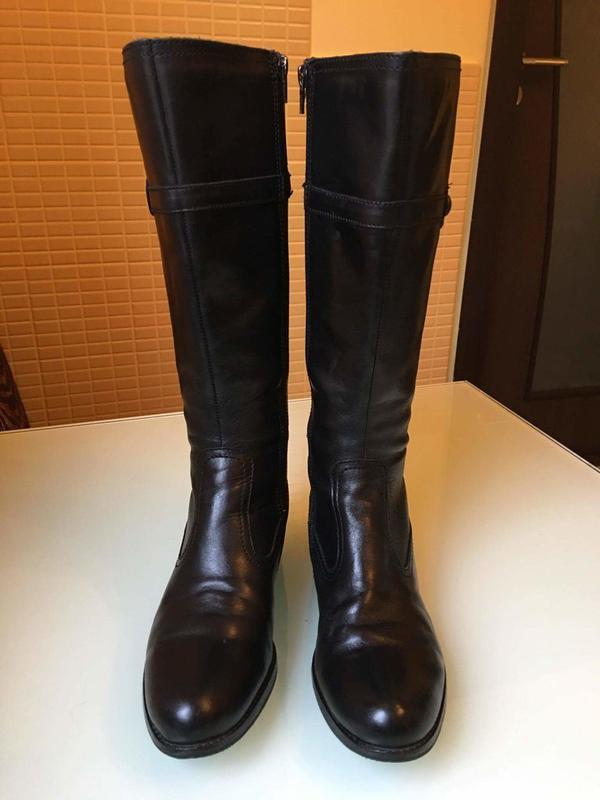 7e8527a69e2f Брендовые кожаные сапоги janetd Janet D, цена - 789 грн,  8417523 ...