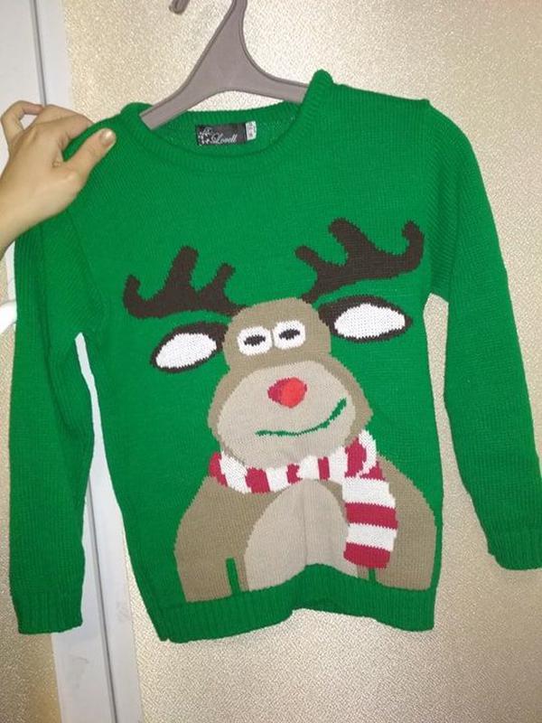 Дитячий новорічний різдвяний светр1  Дитячий новорічний різдвяний светр2 ... a8c21756df315