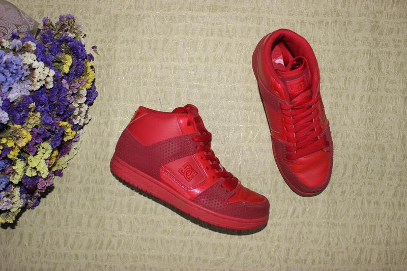 141fb7e9 37 23,5см dcshoecousa кожаные кроссовки высокие хайтопы, цена - 400 ...