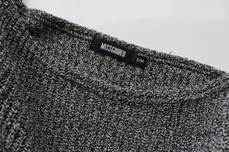 d1e9e1cdb0c ... Актуальное вязаное платье свитер с широким горлом5 фото