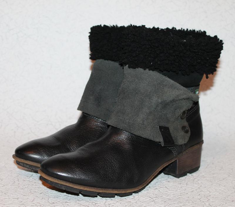 ecc4d7cfb730 Кожаные ботинки трансформеры snipe на овчине 40 размер 26 см стелька1 ...