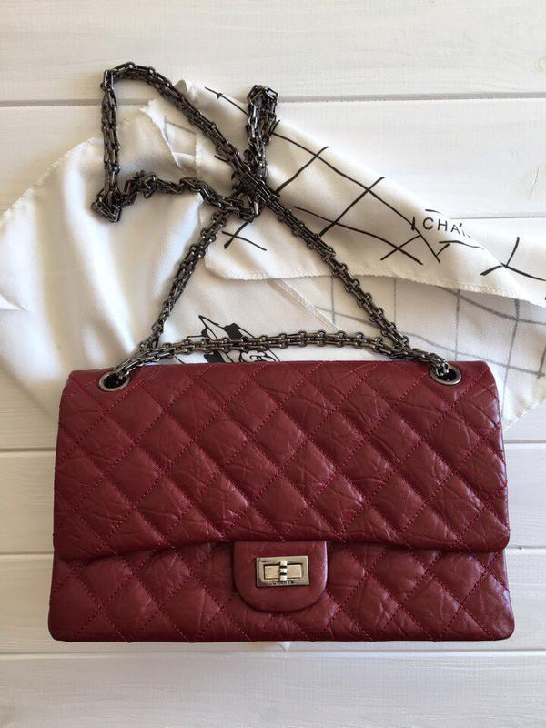 1555a269 Сумка chanel classic flap 2.55 шанель сумочка на цепочке Chanel ...