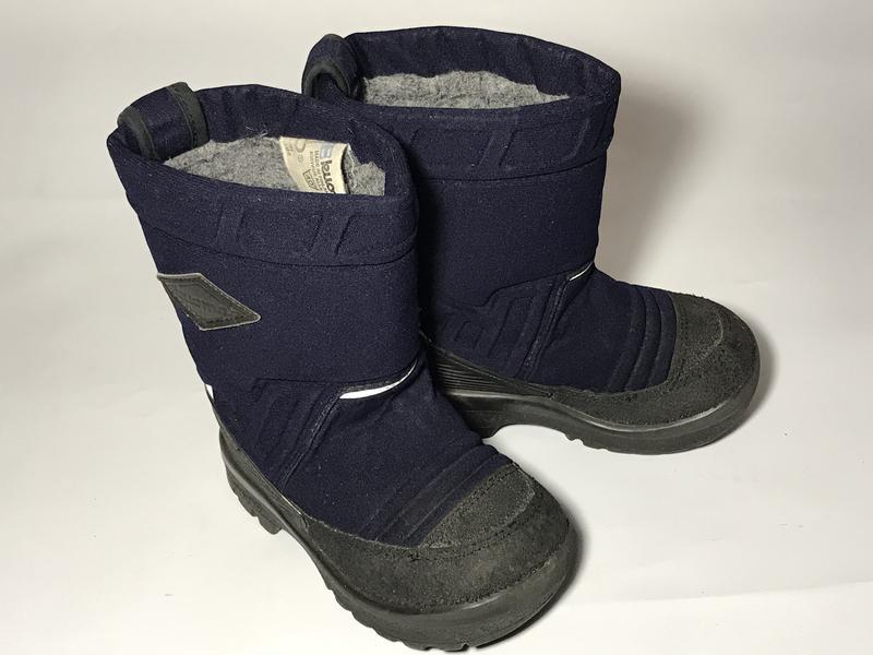 3b32ff53e Kuoma зимние детские валенки сапоги ботинки очень теплые синие черные1 фото  ...