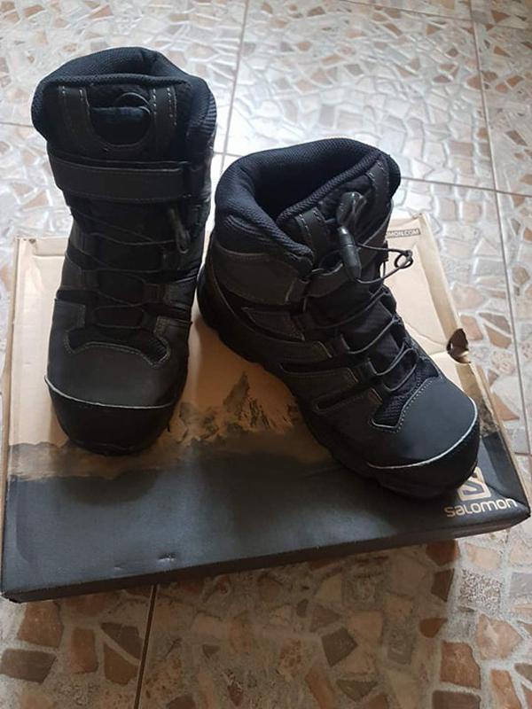 Зимние ботинки salomon на мальчика 34 размер Salomon 2bb779b6575d1