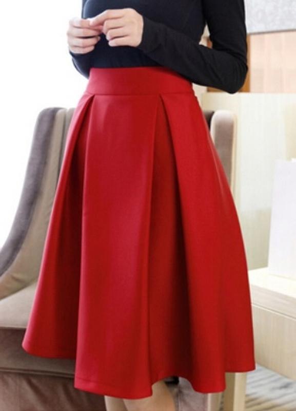 мятную юбку карандаш с чем носить