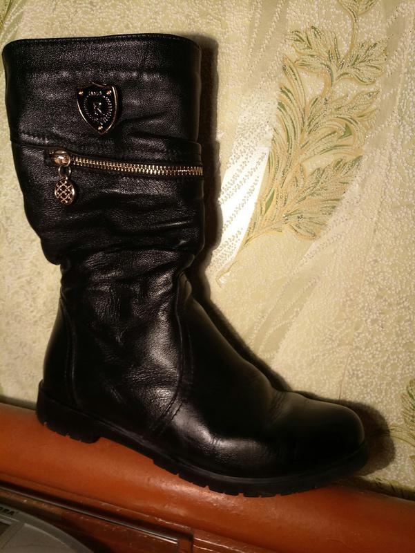 1a6cb81bba6f Сапоги кожаные осень, цена - 600 грн,  8529747, купить по доступной ...