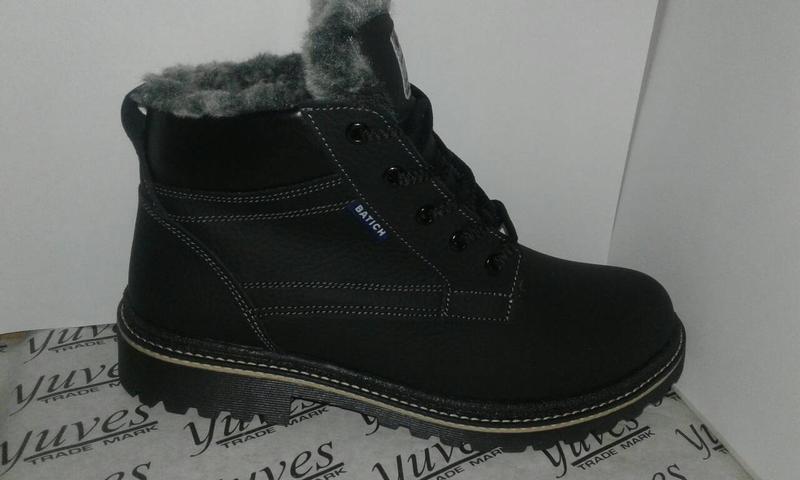 Теплесенькі зимові черевики. підліток. шкіра1 6128301881dcc