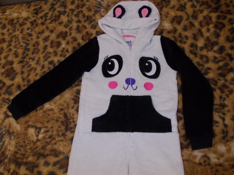 Пижама кигуруми слип комбинезон панда на 9-10 лет рост 134-140см (Marks    Spencer) за 130 грн.  3504896918cb6