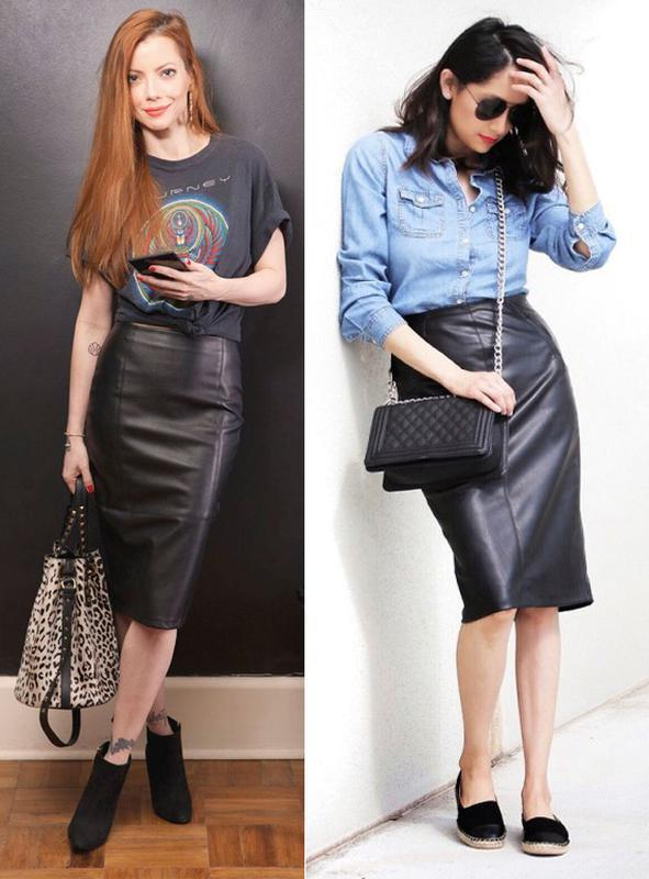 b21f50d2bc1 Кожаная юбка. юбка-карандаш черная классическая. натуральная мягкая кожаная  юбка-миди1 фото ...
