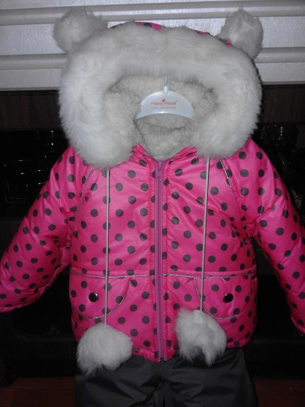 1eaef5cab10433 Зимовий комбінезон для дівчинки 1-2 роки, цена - 500 грн, #8566445 ...