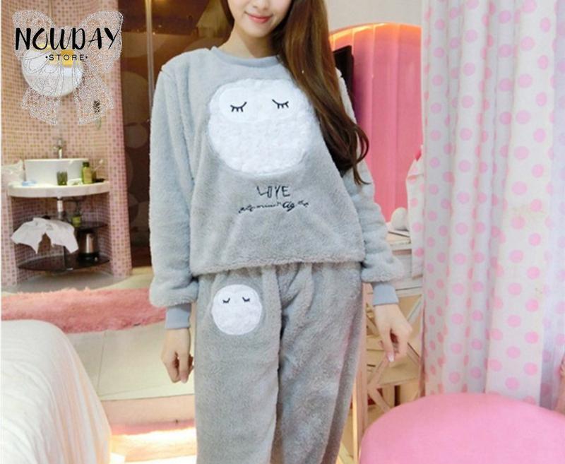 ed579e0b0e876 В наличии махровая новая теплая пижама женская домашний костюм1 фото ...