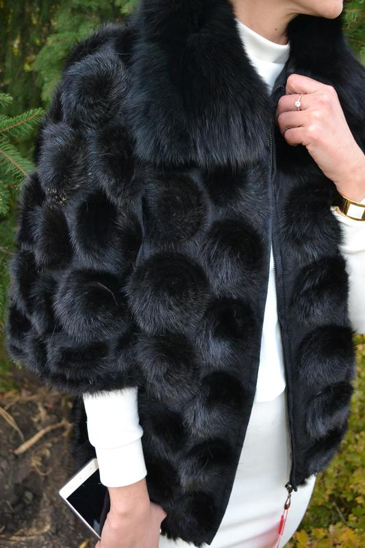 куртка норковая кардиган из вязаной норки меховое пальто из норки