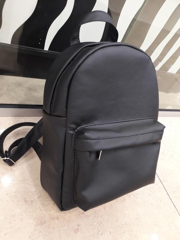 285c0558ffa5 Вместительный женский рюкзак черный эко-кожа качественный1 фото ...