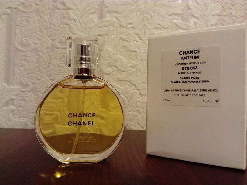 Chanel Chance Parfum духи 35 мл тестер Chanel цена 2800 грн