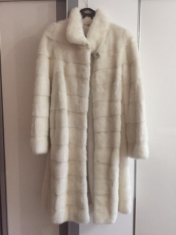 0b55acc52964 Белая норковая шуба, цена - 22990 грн,  8677471, купить по доступной ...