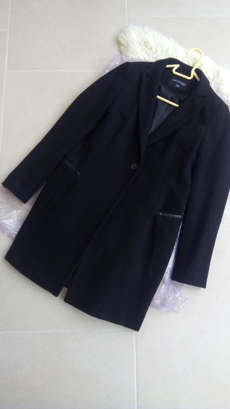 df90083bae47 Шерстяное черное пальто top secret по уникальной цене! Top Secret ...