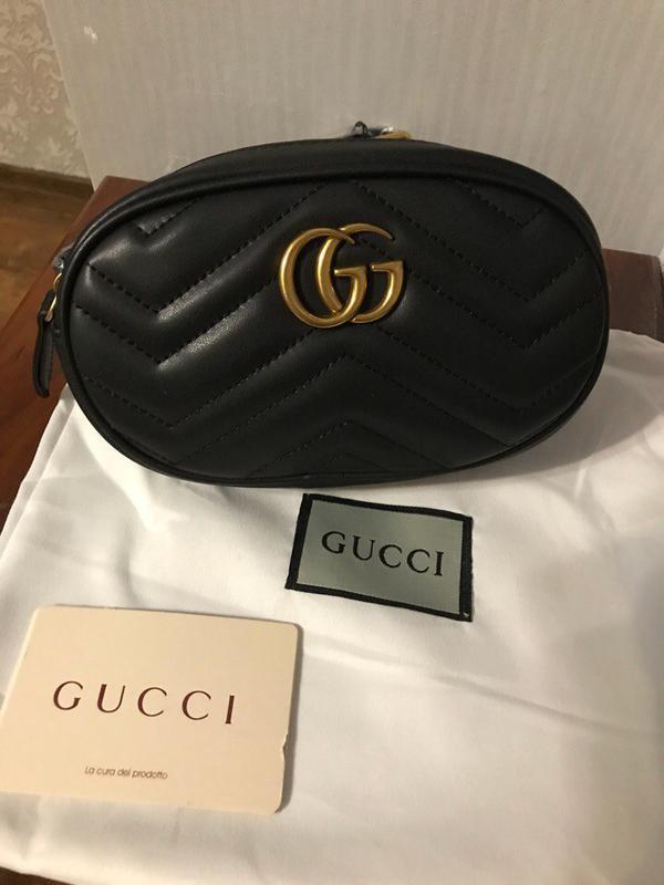 5ec96790 Хит сезона сумка-пояс gucci marmont luxe, цена - 2500 грн, #8700086 ...