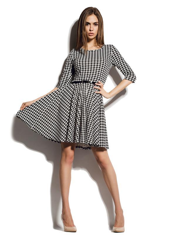 Гусиной лапки платье купить