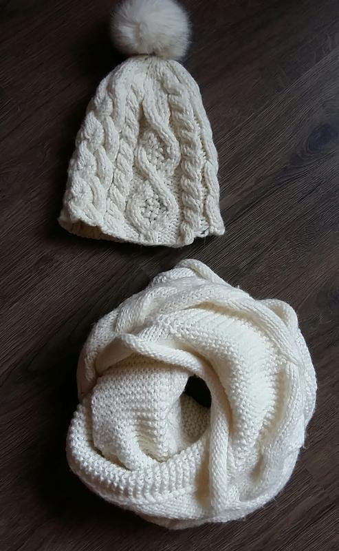 37250225b9194 Комплект шарф и шапка orsay befree молочного цвета Orsay, цена - 200 ...