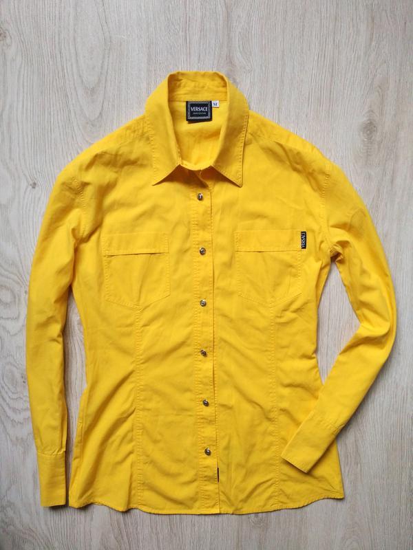 Versace рубашка 100% оригинал prada chanel gucci dior armani dolce gabbana  burberry кофта (Versace) за 850 грн.   Шафа 16a13fd92c9