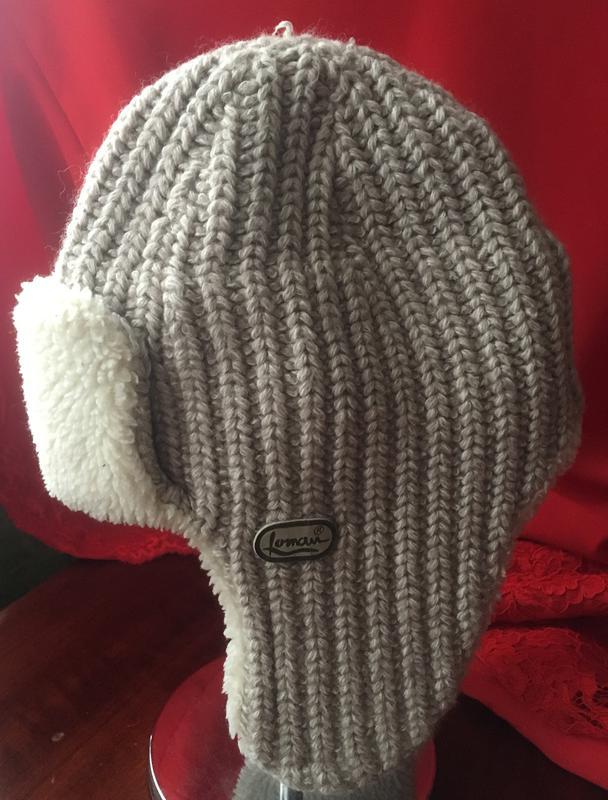 Вязаная шапочка с мехом, цена - 50 грн, #8778494, купить по доступной цене | Украина - Шафа