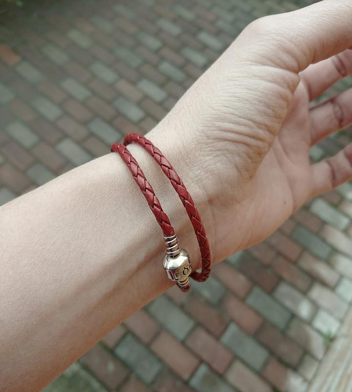 кожаный браслет Pandora оригинал цена 890 грн 7374961 купить