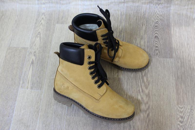 Рижі зимові черевики в стилі timberland1 ... aa3b7e617103c