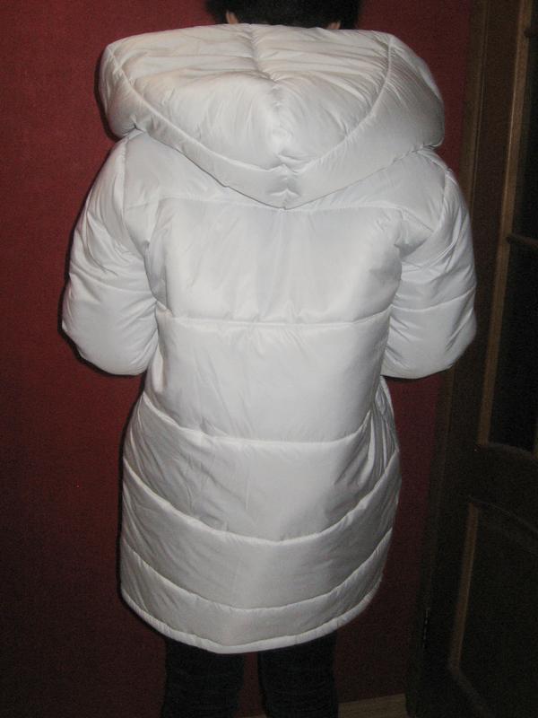c1ef1b6cf4f ... Куртка зимняя белая новая р. м5 фото