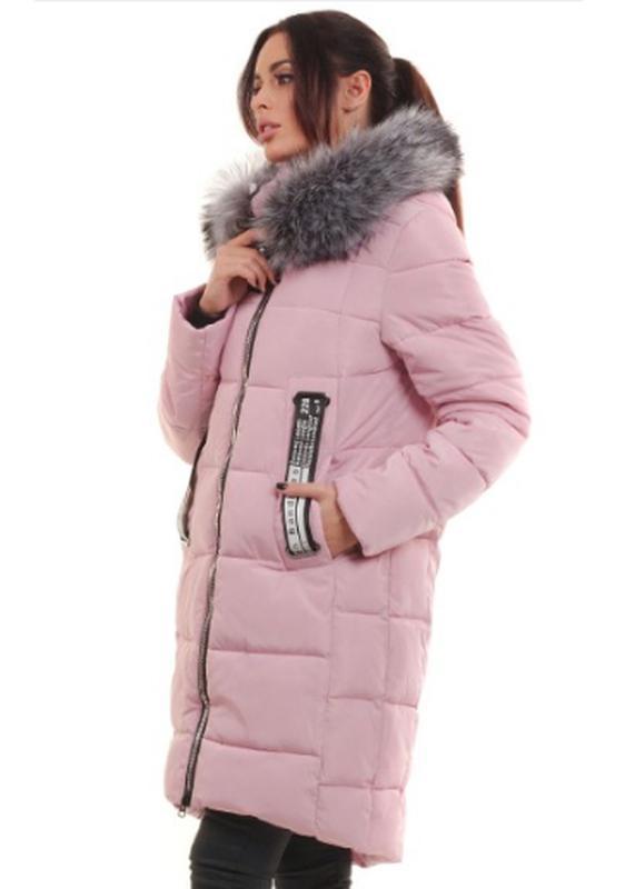 Женская зимняя куртка-пальто. жіноча зимова куртка. парка. пуховик 46-48р  ... c8545008bf7d0