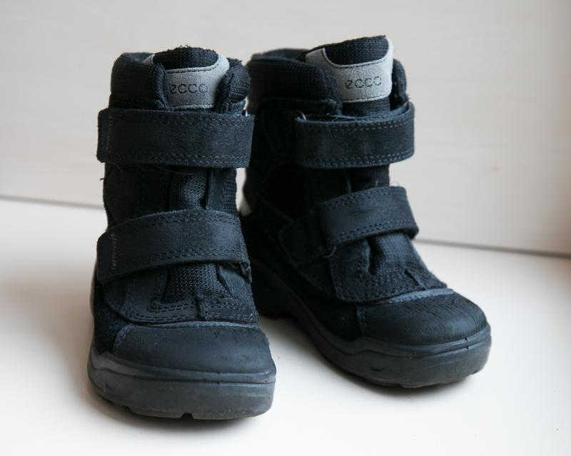 Ботинки ecco зимние термо на мембране gore-tex Ecco 74933e07cd068