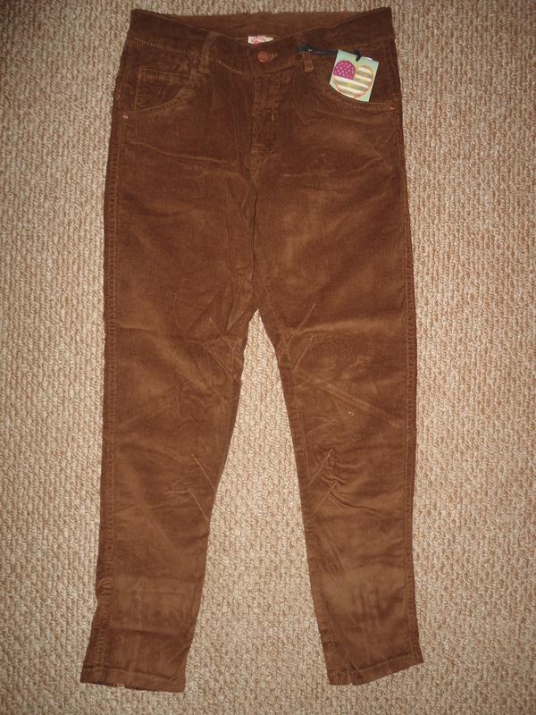 312fe3d7e1d3b Брюки штаны вельвет на девочку, 146 см, glo-story, венгрия1 фото ...